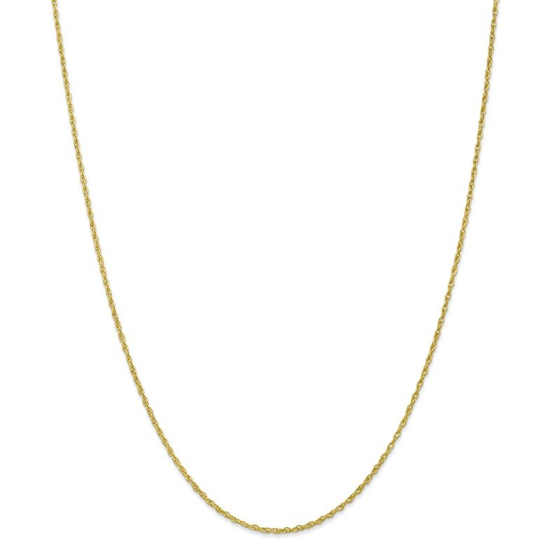 Quality Gold 10k 1.3mm Heavy-Baby Rope Chain