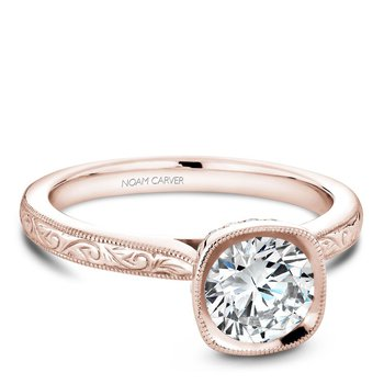 Noam Carver Vintage Engagement Ring B140-13REA