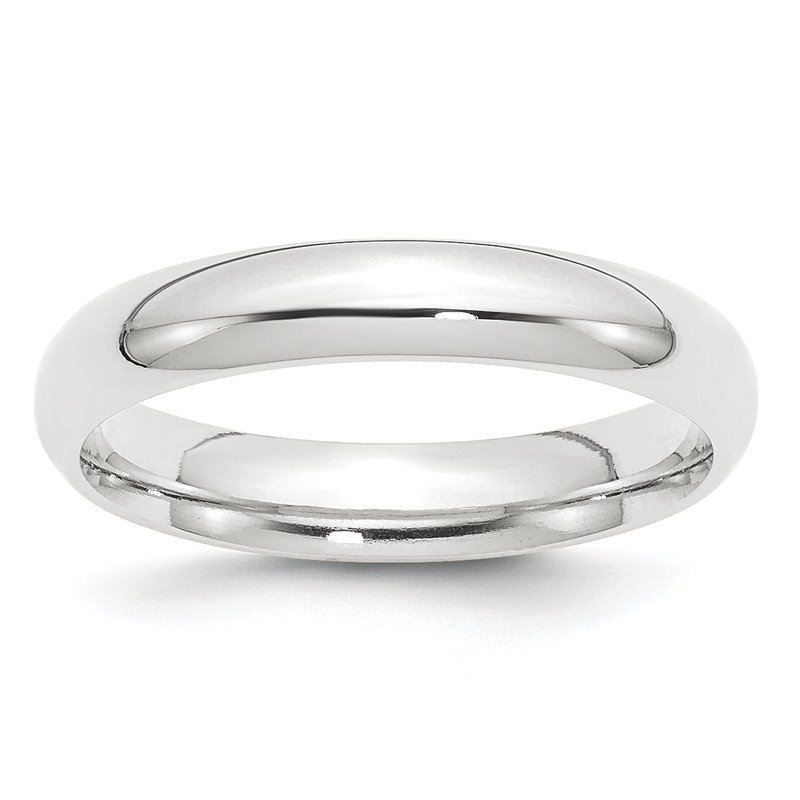 Quality Gold Platinum 4mm Comfort-Fit Wedding Band