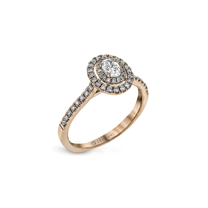 Zeghani ZR1869-R ENGAGEMENT RING