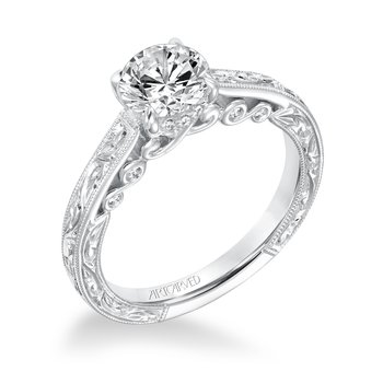 Artcarved Amal Diamond Engagement Mounting