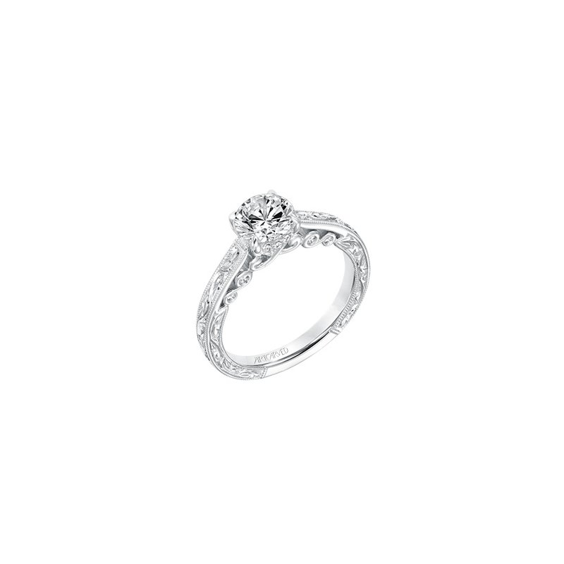 ArtCarved ArtCarved Amal Diamond Engagement Mounting