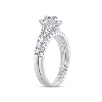 14K 1.01Ct Diamond Bridal Ring