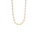 Roberto Coin 18Kt Gold Link Chain With Diamonds