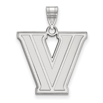 Sterling Silver Villanova University NCAA Pendant