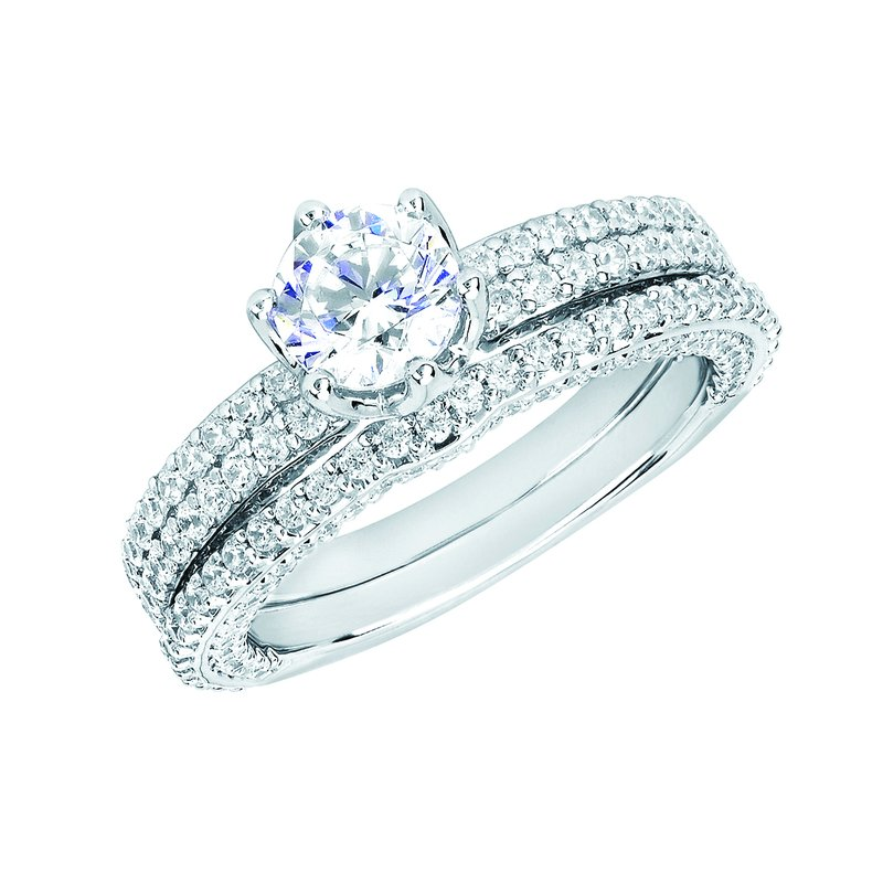 J.F. Kruse Signature Collection Ring RD B 0.75 STD