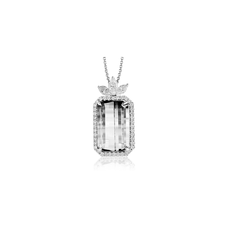 Simon G TP328 COLOR PENDANT