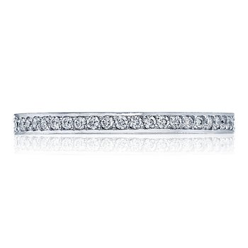 Dantela White Gold Wedding Band
