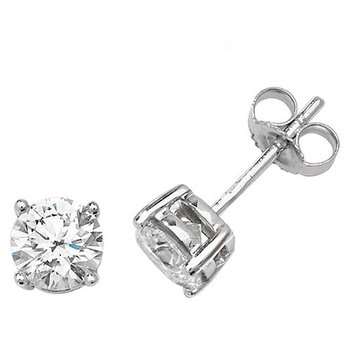 Diamond Illusion Plate Studs