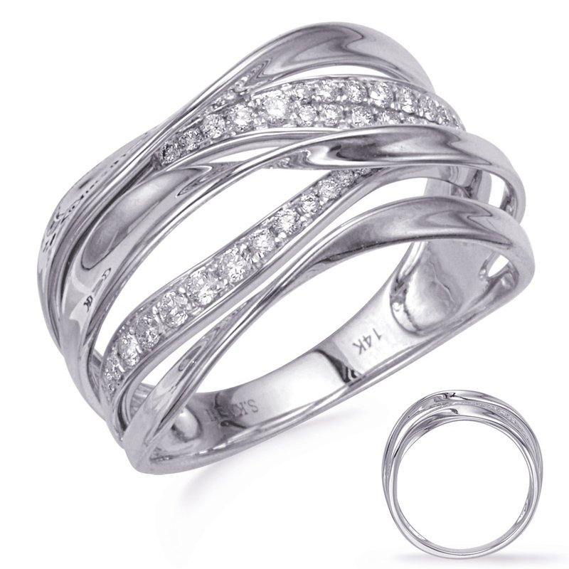 S. Kashi  & Sons White Gold Diamond Fashion Ring