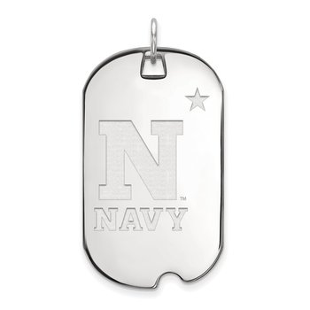 Gold United States Naval Academy NCAA Pendant