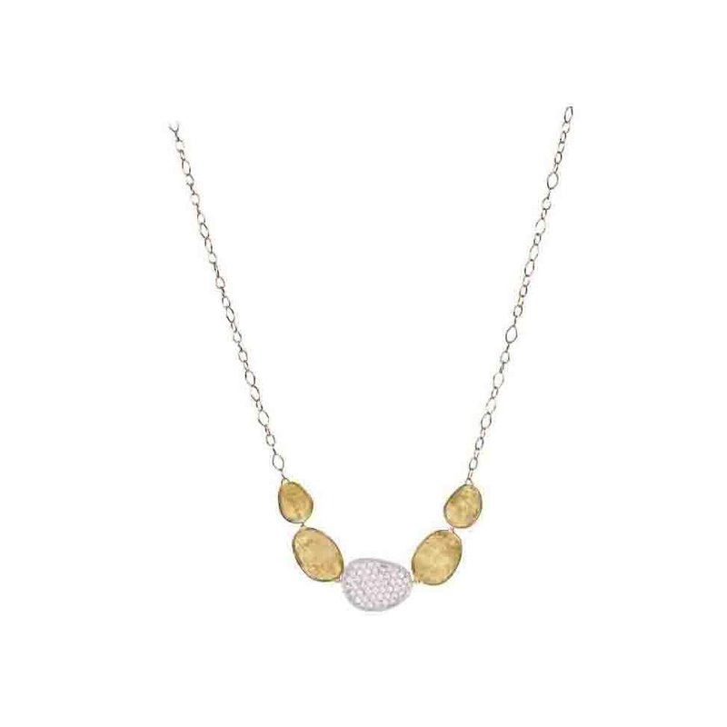 Marco Bicego Diamond Lunaria Fashion Necklace