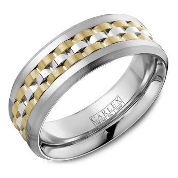 Carlex G3 Men's Wedding Band CX3-0021WYW