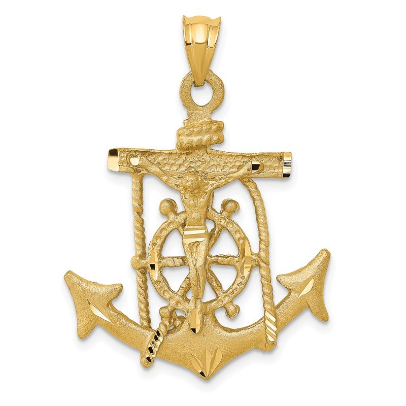 Fine Jewelry by JBD 14k Mariners Cross Pendant
