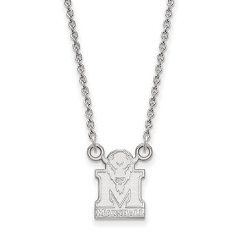 Gold Marshall University NCAA Necklace
