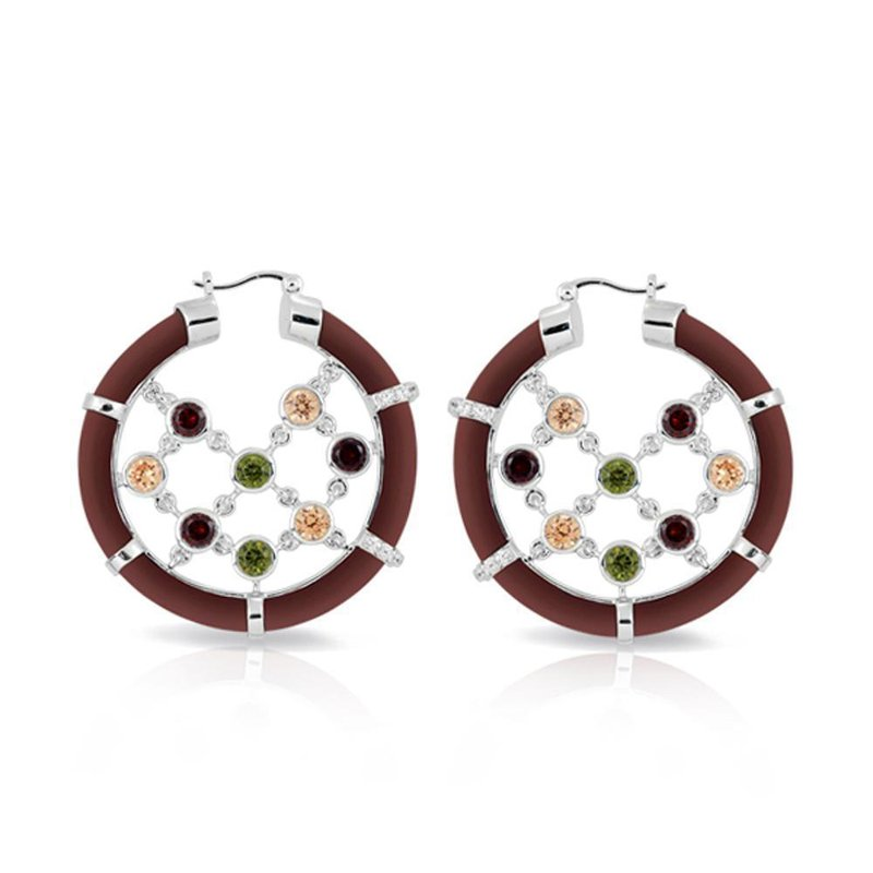 Belle Etoile Lattice Earrings