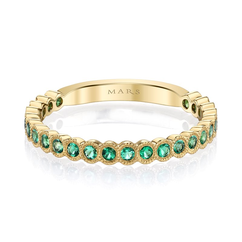 MARS Jewelry MARS 26259YGEM Stackable Ring, 0.33 Ctw.