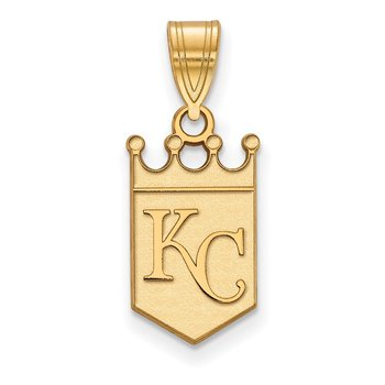 Gold Kansas City Royals MLB Pendant