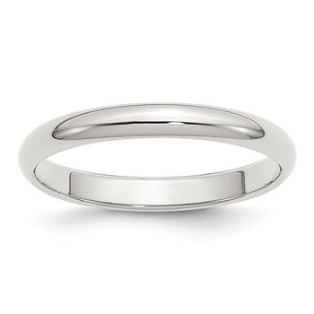 Sterling Silver Stackable Expressions 3mm Half-Round Band