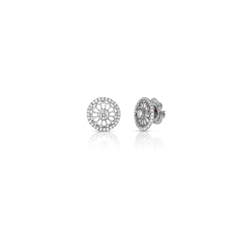 Cento Rosette Mini Stud Earrings