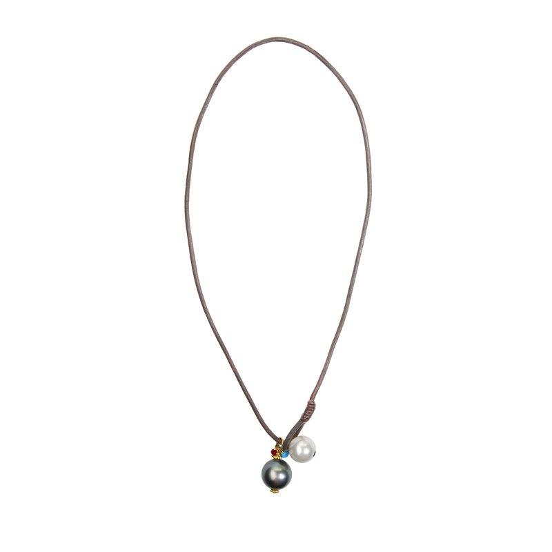 Billig Jewelers Vincent Peach Hemispherian Necklace
