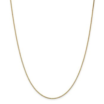 Leslie's 14K 1.2 mm Box Chain w/Lobster Chain
