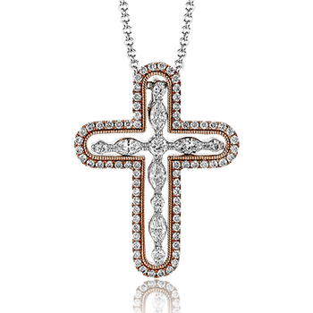 PP117 CROSS PENDANT