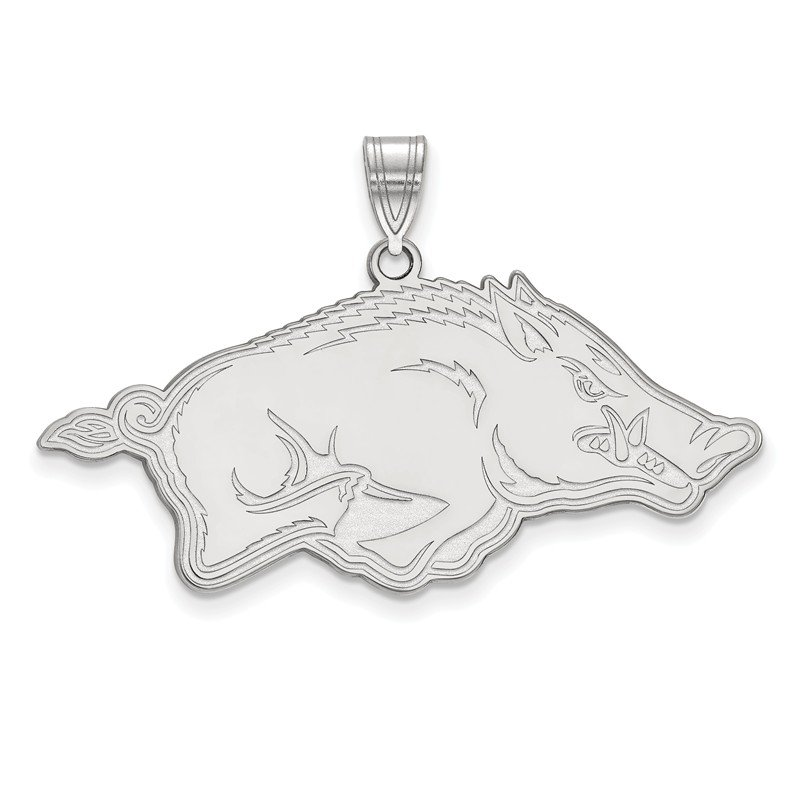 NCAA Sterling Silver University of Arkansas NCAA Pendant