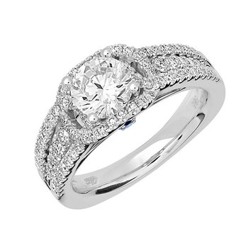Bridal Ring-RE12633W10R