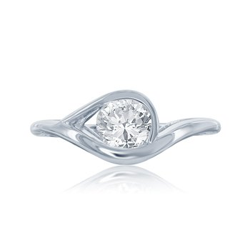 WS - The Eye Bridal Ring