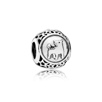 Taurus Star Sign Charm