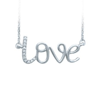 14K 0.02Ct Diamond Necklace