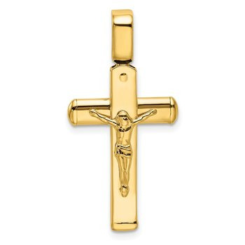 Leslie's 14k Polished Crucifix Pendant
