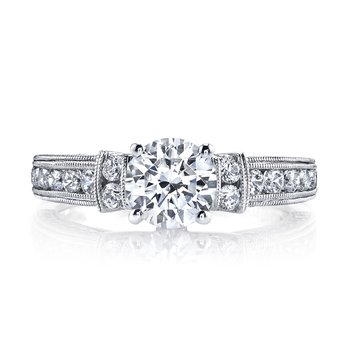 Diamond Engagement Ring, 0.82 ct tw