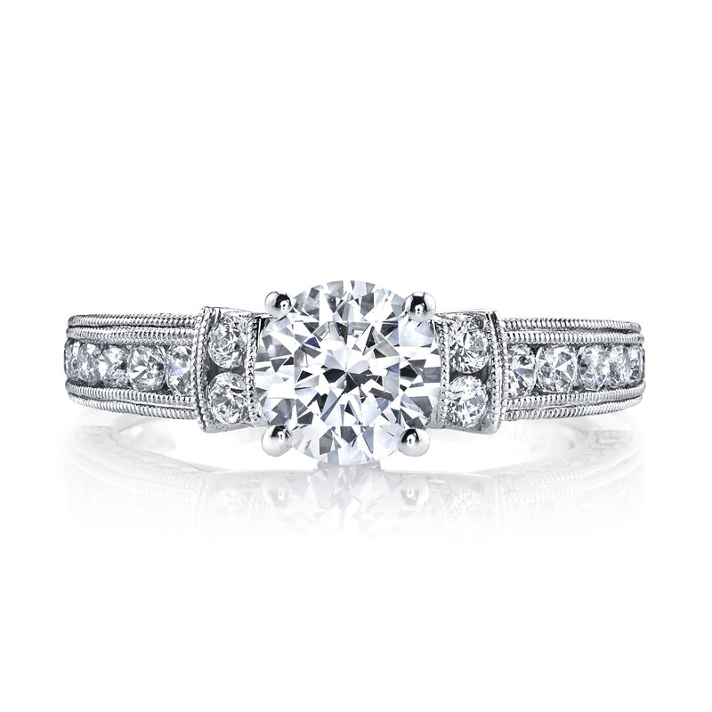 MARS Jewelry Diamond Engagement Ring, 0.82 ct tw