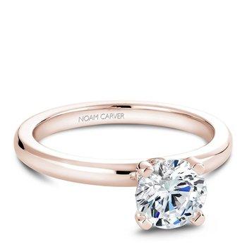 Noam Carver Modern Engagement Ring B012-02RA