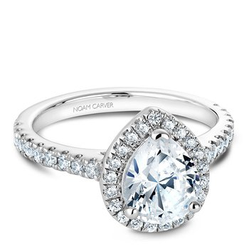 Noam Carver Fancy Engagement Ring B029-04A