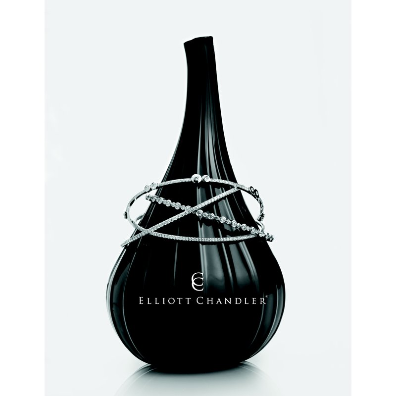 Elliot Chandler EC BLACK VASE