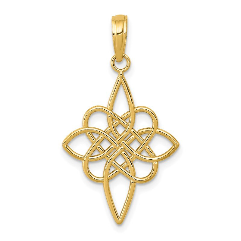 Quality Gold 14K Celtic Knot Pendant