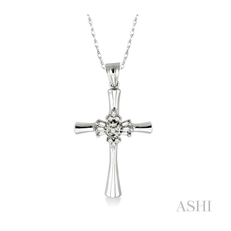 Crocker's Collection diamond cross pendant