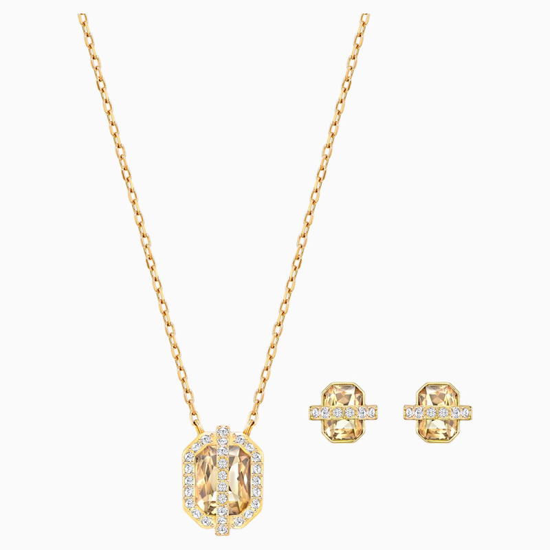 Swarovski Favor Set, Gold-tone plated