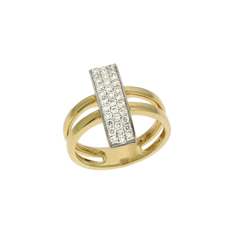 S. Kashi  & Sons Diamond Pave Ring