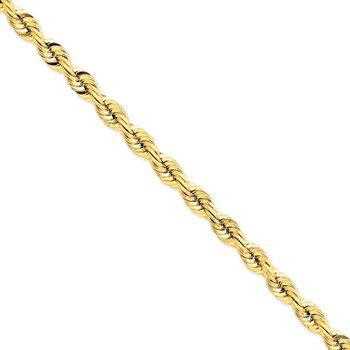 14k 7.5mm D/C Quadruple Rope Chain