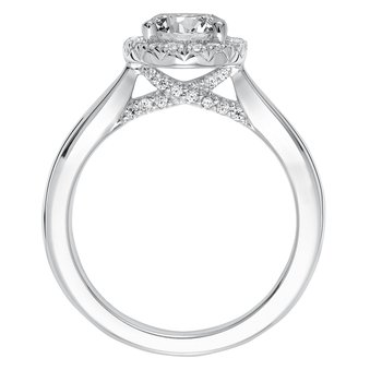 ArtCarved Maisy Diamond Engagement Mounting