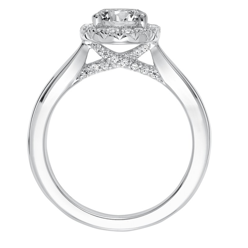 ArtCarved ArtCarved Maisy Diamond Engagement Mounting