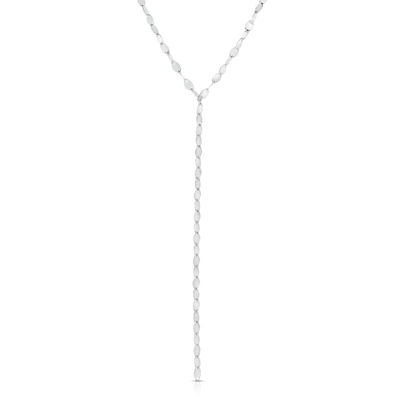 Royal Chain Silver Marina Link Y Necklace