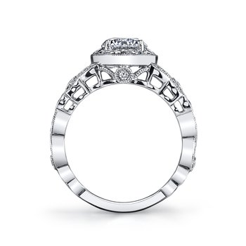 MARS 26007 Diamond Engagement Ring 0.42 Ctw.