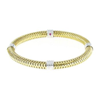 #25942 Of 4 Station Flexible Bangle