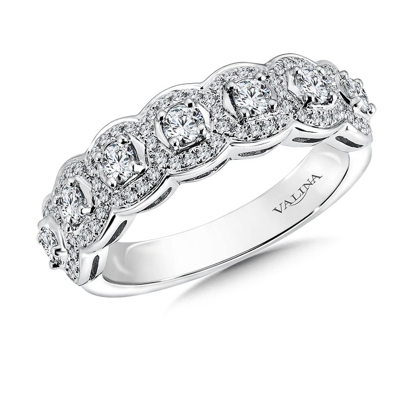 Valina Bridals Diamond Anniversary Band 0.74 ct. tw.
