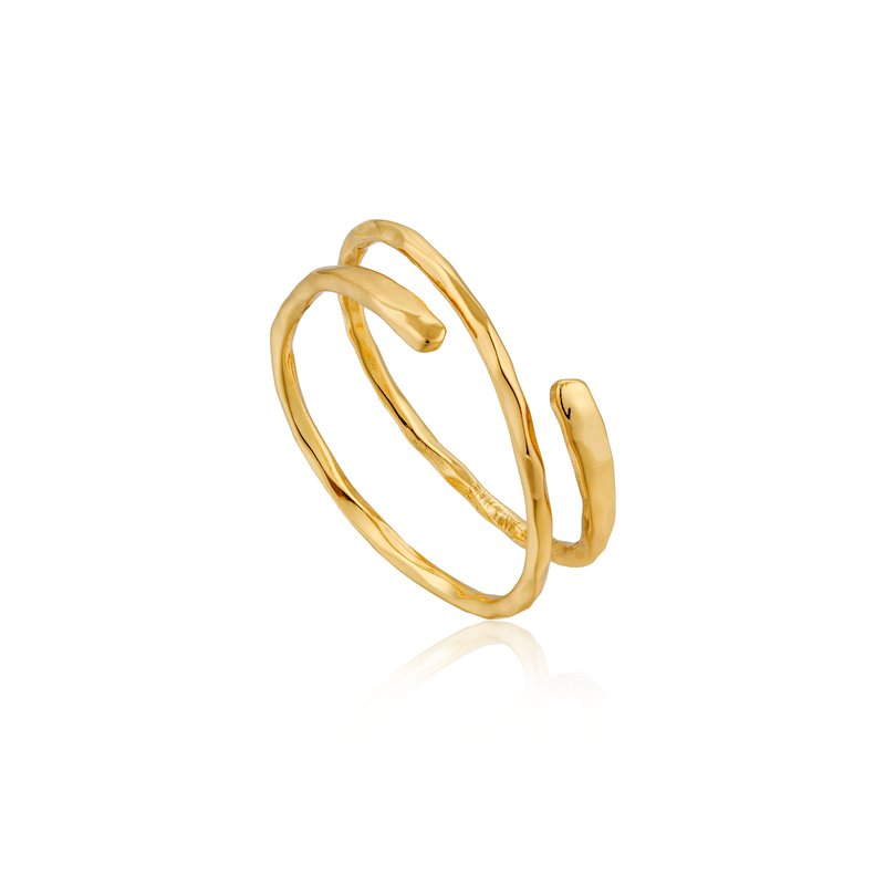 Ania Haie Ripple Adjustable Ring